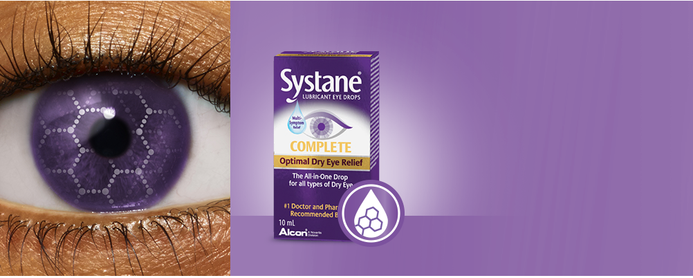 SYSTANE® Eye Drops for Dry Eye Symptom Relief